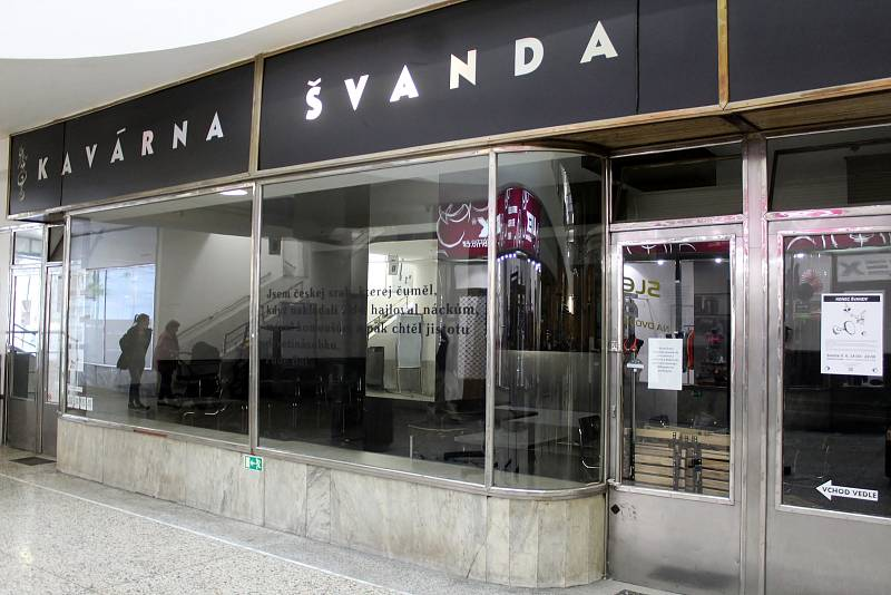 Kavárna Švanda v brněnské Alfa pasáži už neotevře.