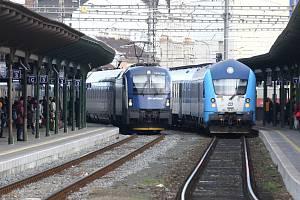 Brno, hlavní nádraží. Ilustrační foto