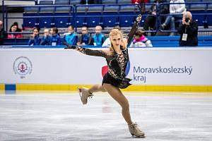 Brněnská krasobruslařka Eliška Březinová si zajistila účast na prvních olympijských hrách v kariéře.