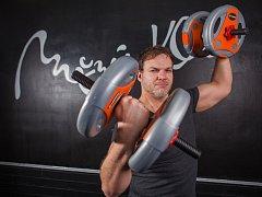 Fitness trenér Mojmír Kroker.