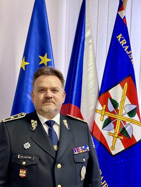 Jihomoravský policejní ředitel Leoš Tržil.