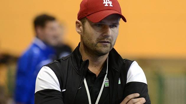 Trenér Marek Kopecký.