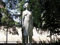 Socha Marie Kudeříkové.
