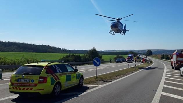 Nehoda u Rosic si vyžádala pět zraněných.
