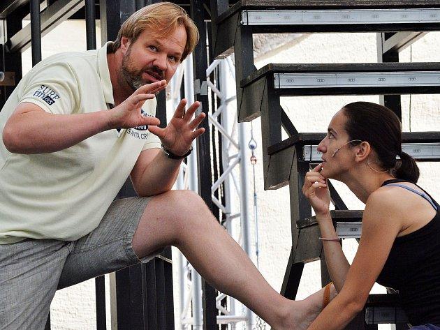 Vposledních letech dělí Petr Gazdík svůj pracovní čas takřka rovnocenně mezi pozice herce a režiséra.