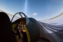 Brněnské centrum Buď Pilot nově nabízí simulátor letu ve stíhačce Spitfire.