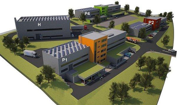 Centrum AdMaS vúterý odstartovalo stavbu nových unikátních pavilonů vareálu univerzitního kampusu školy Pod Palackého vrchem.
