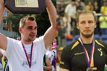 Dva nejúspěšnější jihomoravské sportovní týmy na domácím hřišti v minulé sezoně a zároveň dva medailisté. Vyškovští ragbisté (vlevo) a brněnští volejbalisté objevili recept na úspěch – proměnit domácí stadion v nedobytnou tvrz.