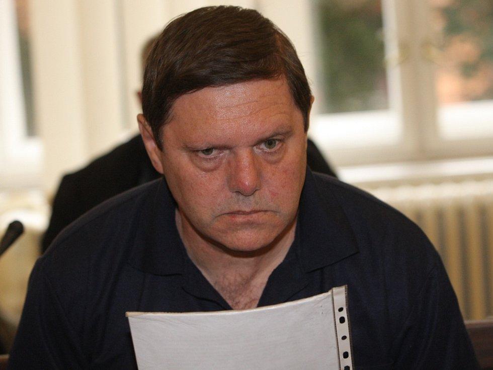 Ugo Dobiáš u brněnského soudu.