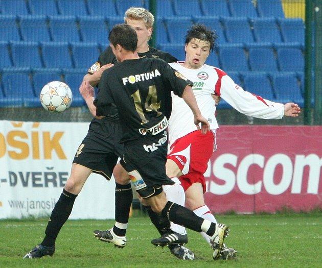 Milan Pacanda ještě v dresu zlínské Tescomy.