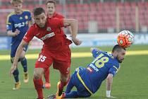 Fotbalisté brněnské Zbrojovky remizovali na domácím trávníku ve 28. kole nejvyšší soutěže s Jihlavou 1:1.