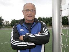 Fotbalový trenér Jiří Hajský.