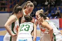Basketbalistky Žabin Brno válí jak v Evropské lize EWBL, tak ve Středoevropské lize CEWL.