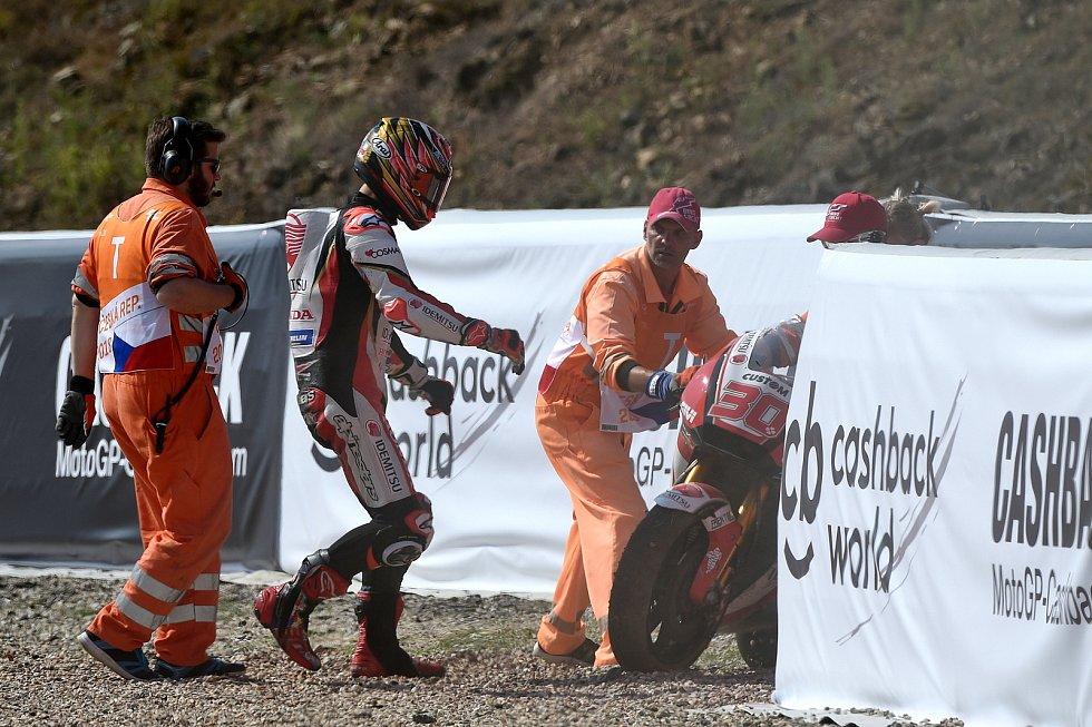 Sobotní kvalifikace na Grand Prix ČR - Takaaki Nakagami