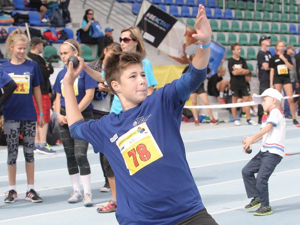 Třídenním finále vyvrcholil v Brně letošní ročník Odznaku Všestrannosti Olympijských Vítězů, který patří do Sazka olympijského víceboje.