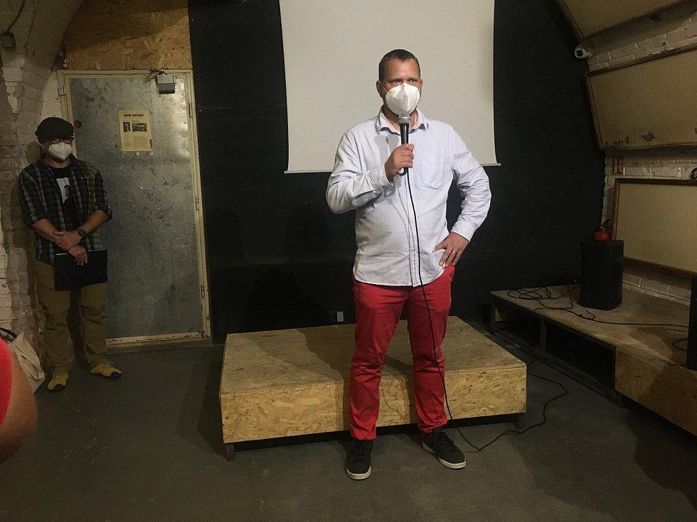 Projev organizátora a dokumentaristy Štěpána Černouška na vernisáži výstavy ke stému výročí narození disidenta Andreje Sacharova.