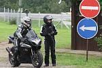 Přípravy v kempech i v paddocku na motocyklovou Velkou cenu České republiky na brněnském Masarykově okruhu.