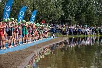 Na světovém šampionátu ve sprint triatlonu v Edmontonu obsadila Vendula Frintová 26. pozici.