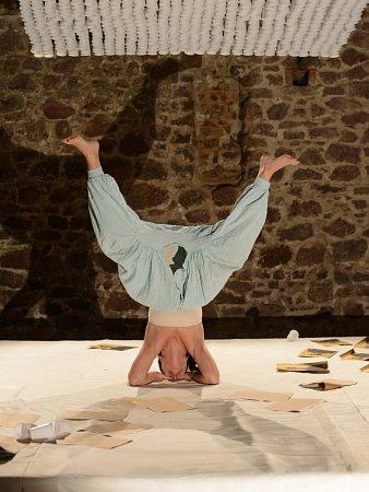 Scéna ikostým, za kterými stojí Pavla Kamanová, stejně jako režijní cit Aleše Bergmana umožňují divákům soustředit veškerou pozornost a důraz na Fridu vpodání Evy Ventrubové.