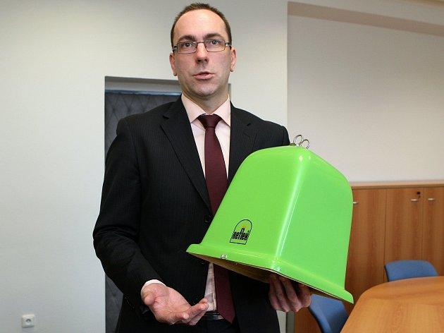 Ředitel firmy SAKO Jiří Kratochvil.