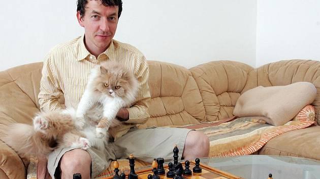 Šachový velmistr Tomáš Polák.