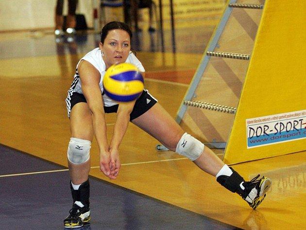 V jedenadvaceti letech je nahrávačka Šárka Kubínová nejzkušenější hráčkou KP Brno.
