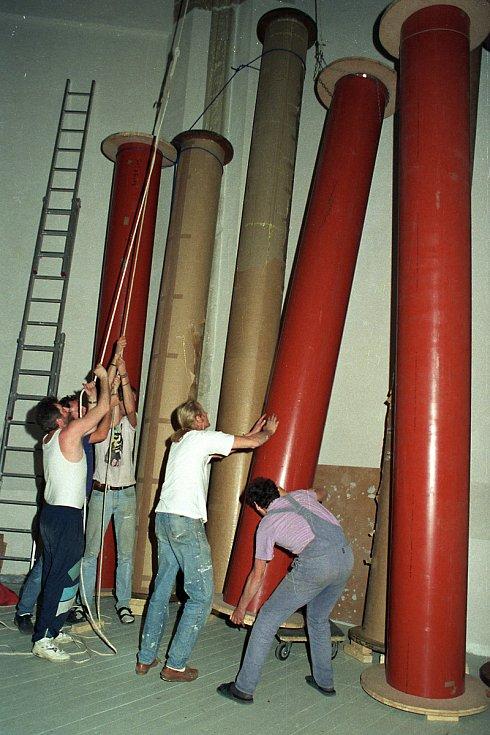 Rok 1994 výstava 15 pláten Slovanské epopeje v Minoritkirchen Rakousko.