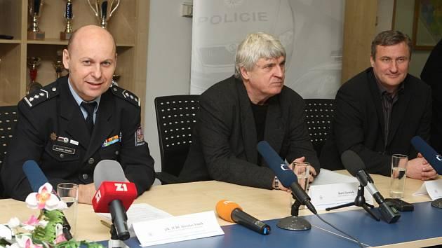 Jaroslav Vaněk, Karel Jarůšek a Radek Bělák.