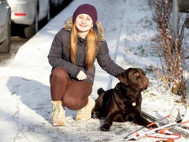 Redaktorka Rovnosti si vyzkoušela, jaké je chodit s vodícím psem.