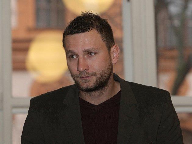 Pavel Hudeček u Krajského soudu v Brně.