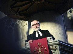 Farář Českobratrské církve evangelické Jiří Gruber.