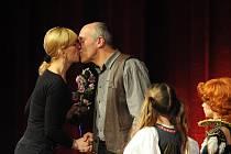 Cenu diváků Národního divadla Brno vyhráli Eva Novotná a Petr Halberstadt.