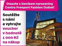 Oslavte s Deníkem narozeniny Centra Freeport Fashion Outlet!