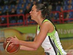 Brněnská basketbalistka Barbora Kašpárková.