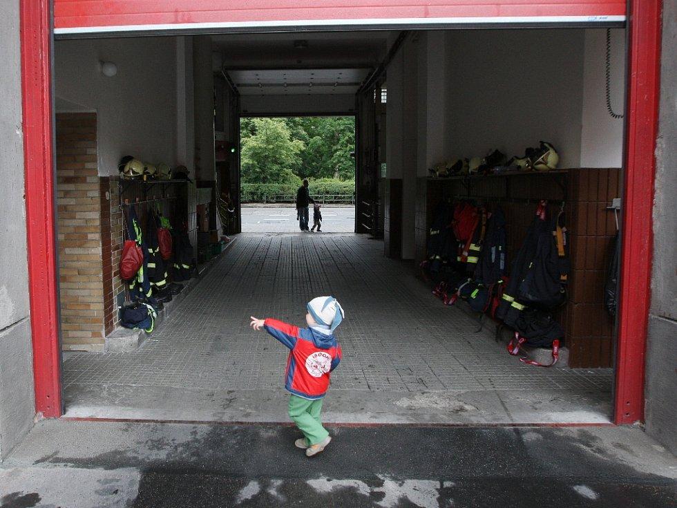Den otevřených dveří u brněnských hasičů.