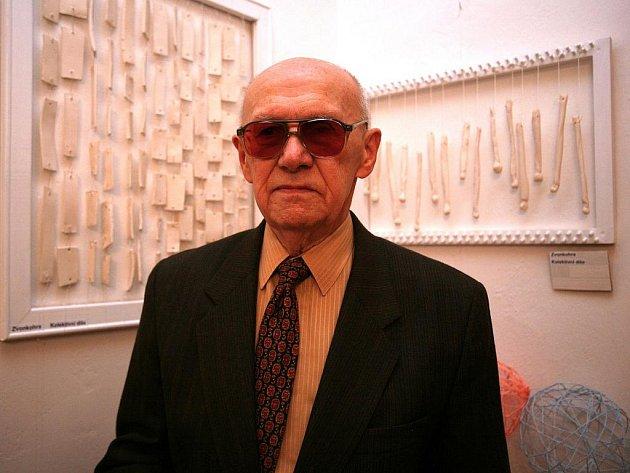 Zrakově postižený Jan Ketman.