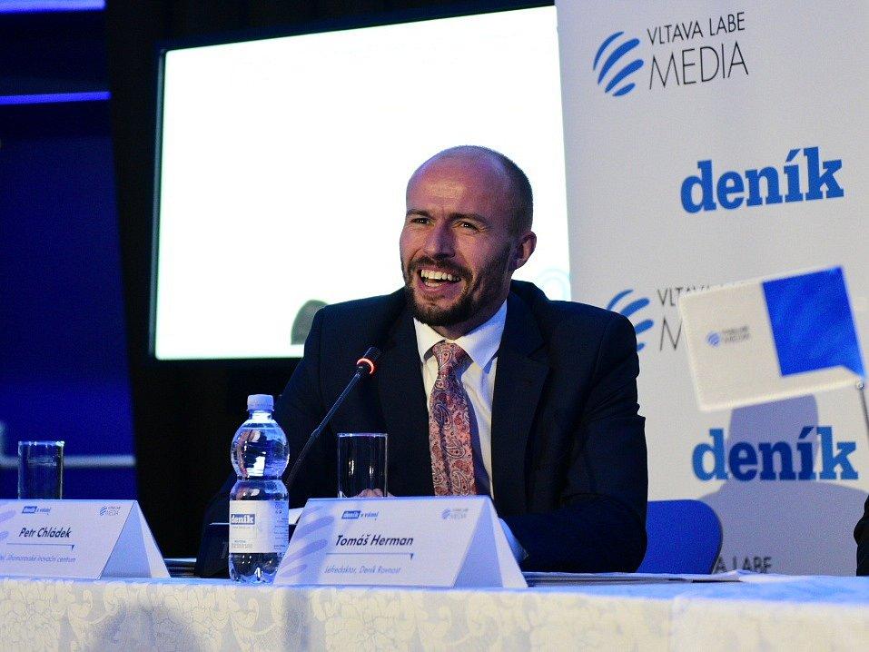Petr Chládek z Jihomoravského inovačního centra.
