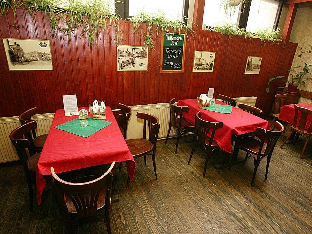Brněnská restaurace U Emila.