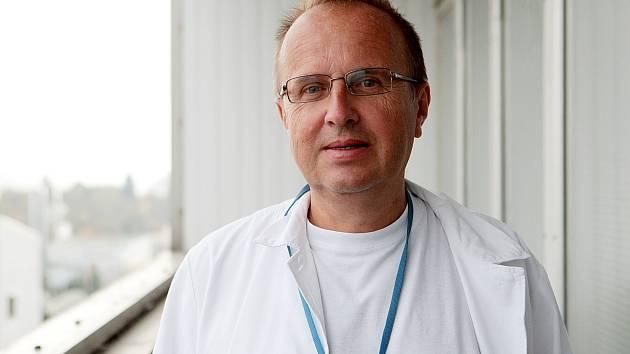 Přednosta Chirurgické kliniky Fakultní nemocnice Brno Zdeněk Kala.