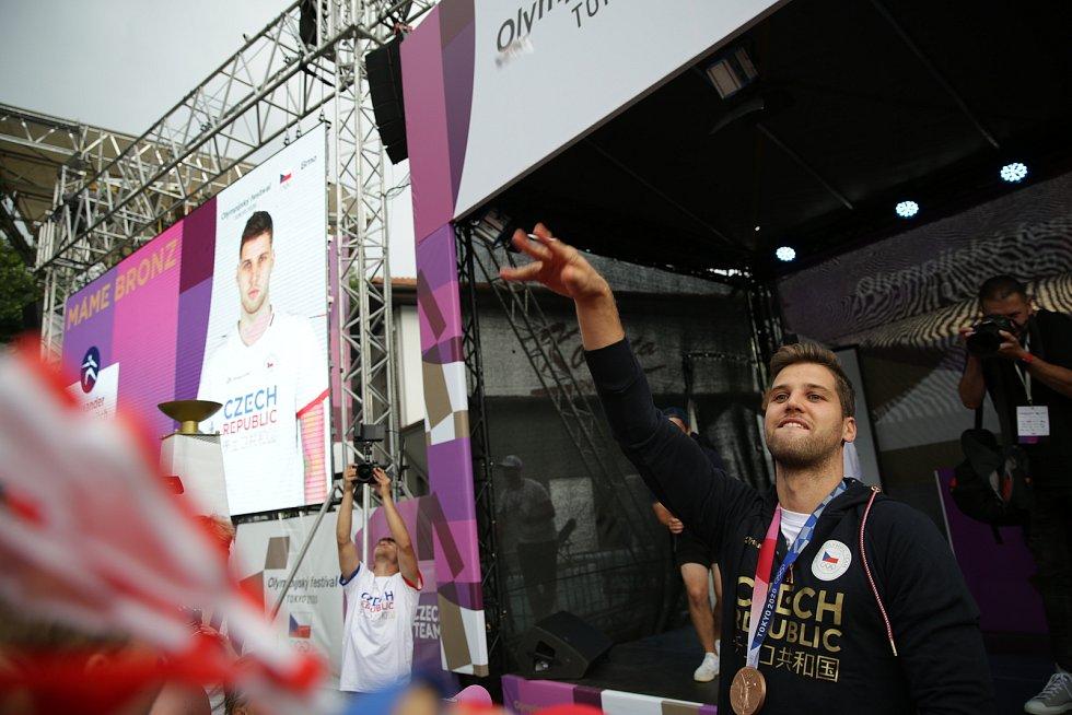 Do Brna dorazil bronzový medialista v šermu Alexander Choupenitch