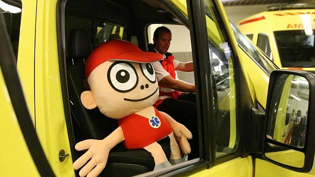 Projekt nazvaný Kryštůfek záchranář dětem má potěšit děti, které se ocitnou v péči zdravotníků.