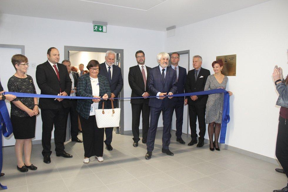 V budově Nejvyššího soudu v Burešově ulici v Brně v úterý oficiálně otevřeli nově vybudované křídlo.