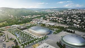 Nová multifunkční hala na brněnském výstavišti