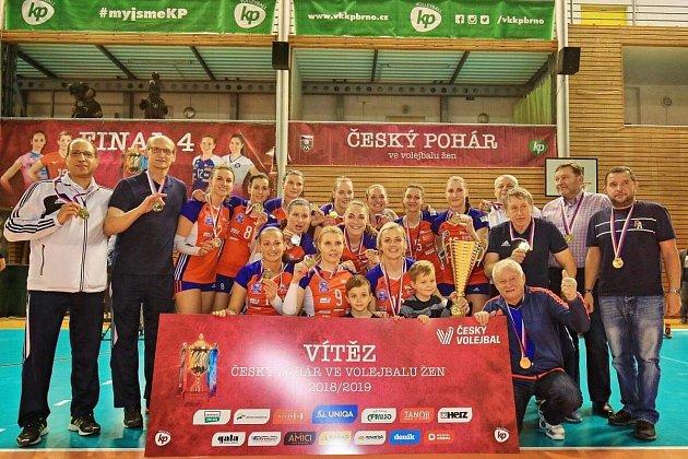 Český pohár žen je dvou letech zpátky vrukou Olomouce, která porazila ve finále Prostějov.