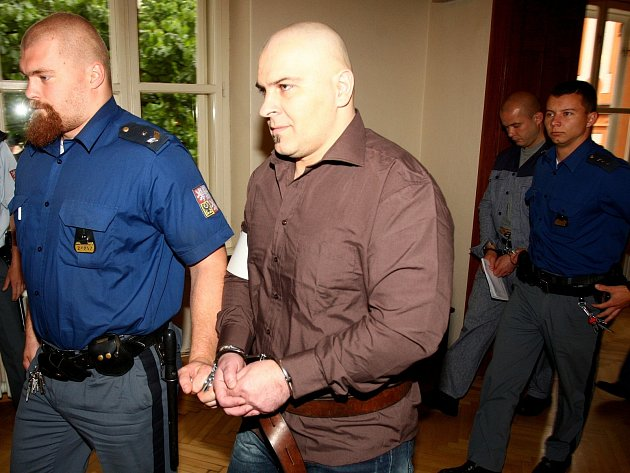 Tomáš Trkan u brněnského soudu.