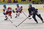 Na turnaji Hlinka Gretzky Cup v Břeclavi prohrála česká hokejová reprezentace do 18 let s Finskem.