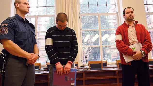 Robert Justych a Marek Mřihlad u brněnského soudu.