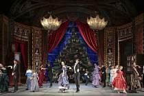 Vánoční baletní pohádka Louskáček v podání Baletu Národního divadla Brno.