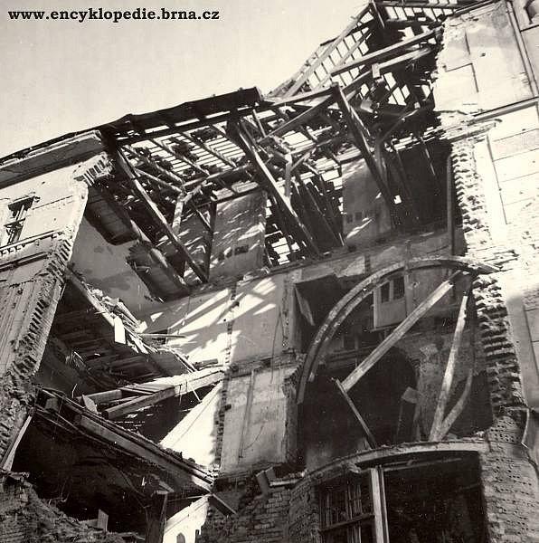 Výsledky nejničivějšího náletu na Brno před 70 lety v době druhé světové války.
