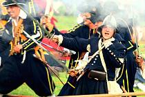Historická ukázka obléhání Brna švédskou armádou